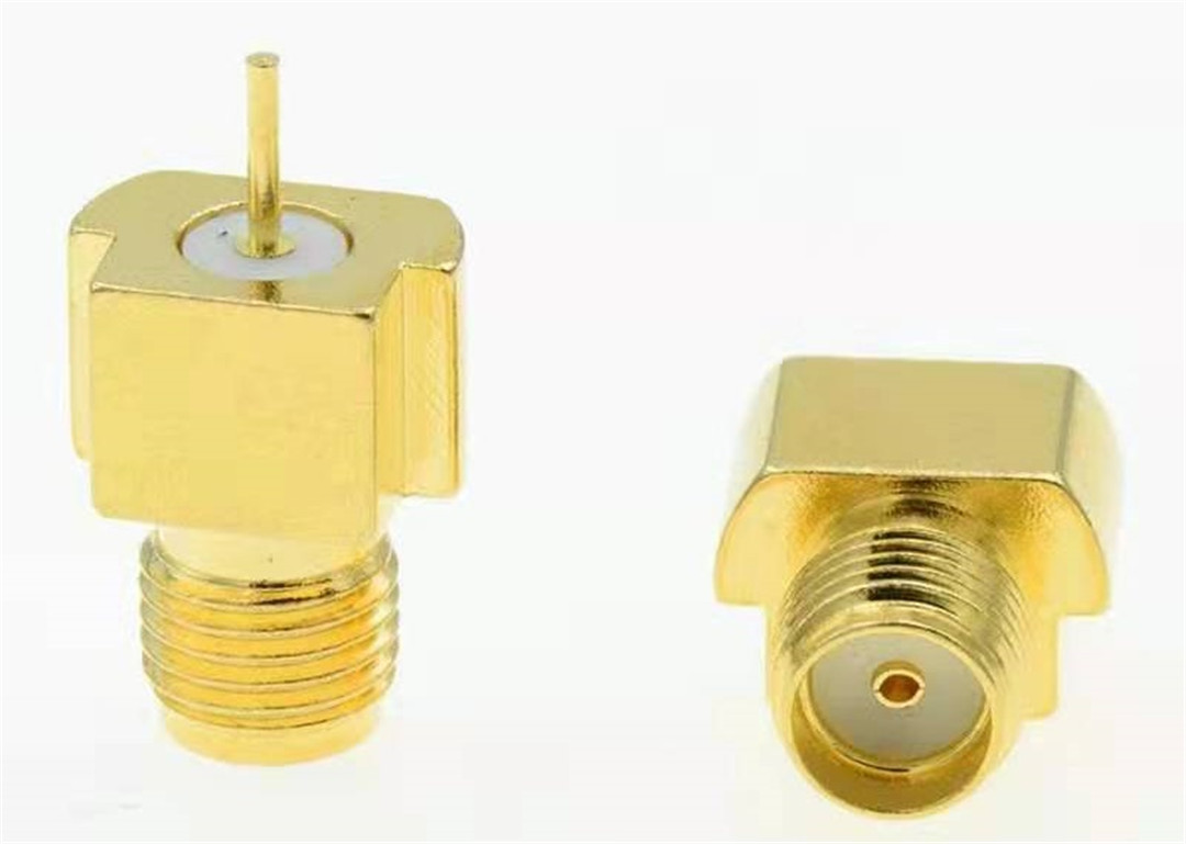 industrial Coaxial socket connector test plug assembly
